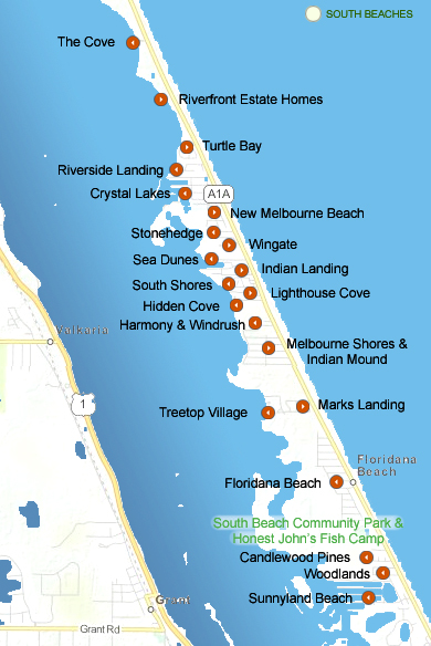 Your Guide To Melbourne Beach Communities Melbourne Beach Real Estate