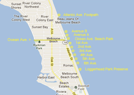 Map Of Melbourne Beach Florida.Town Of Melbourne Beach Melbourne Beach Real Estate