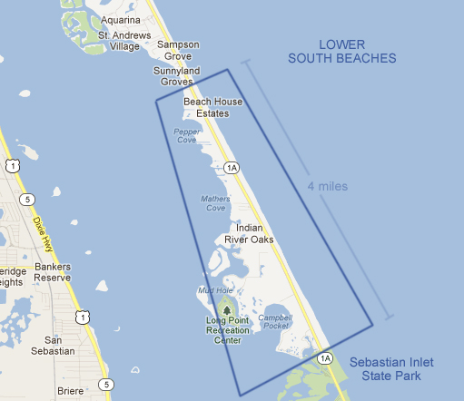 Melbourne Beach Florida Map.Lower South Beaches In Melbourne Beach Fl Melbourne Beach Real Estate