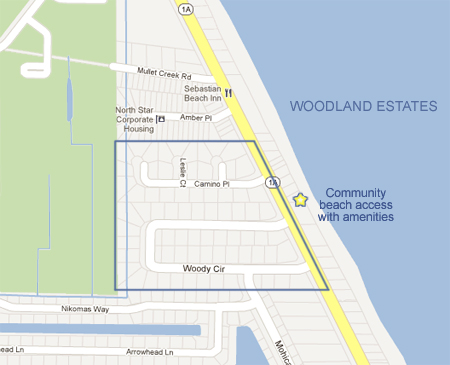 Map Of Melbourne Beach Florida.Woodland Estates In Melbourne Beach Fl Melbourne Beach Real Estate